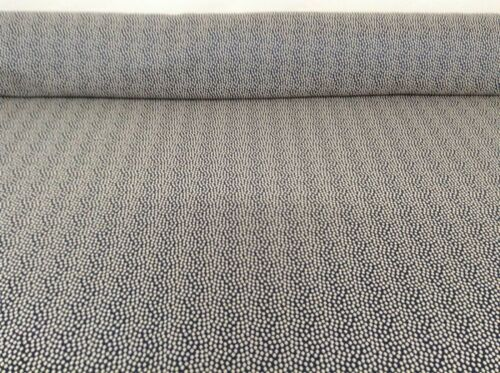 Oyster Navy Blue Silver Grey Faux Silk Curtain//Upholstery Fabric 140cm wide