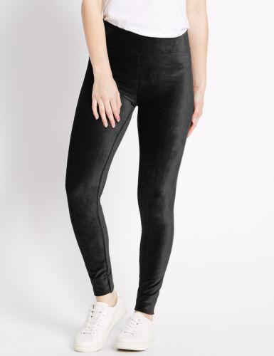 "Ex M/&S Soft Cord Leggings BLACK GREY BERRY TEAL L 25/"" //L 27/""// L 29/"" Size 8-22"