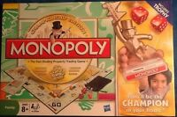 Monopoly Championship Edition Mint Trophy Included