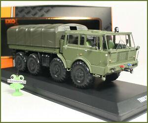 1-43-Tatra-813-8x8-Kolos-1968-Military-Pritsche-TRU025-IXO-Tschechoslowakei