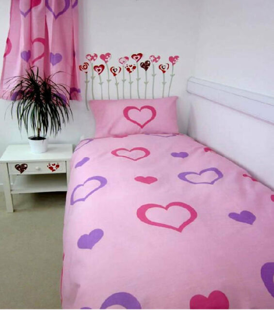 Love Hearts Double Duvet - Bargain Twin Pack