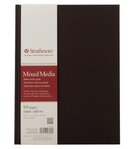 Strathmore 500 Series Mixed Media Hardbound Art Journal 8.5x11in