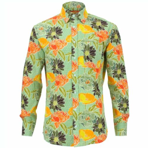 Florale Originals Chemise Vert Standard Coupe Hommes Loud Pour R 7WwAvz