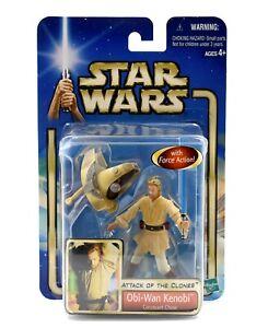 STAR-WARS-L-039-ATTACCO-DEI-CLONI-Obi-Wan-Kenobi-Coruscant-Chase-Action-Figure