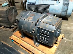 Image Is Loading 300 Hp Dc General Electric Motor 1750 Rpm
