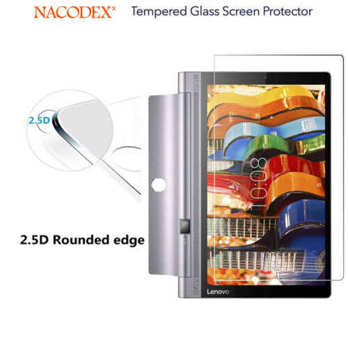 """2 Pack Tempered Glass Screen Protector For Lenovo Yoga Tablet 10 10.1/"""" Tablet"""