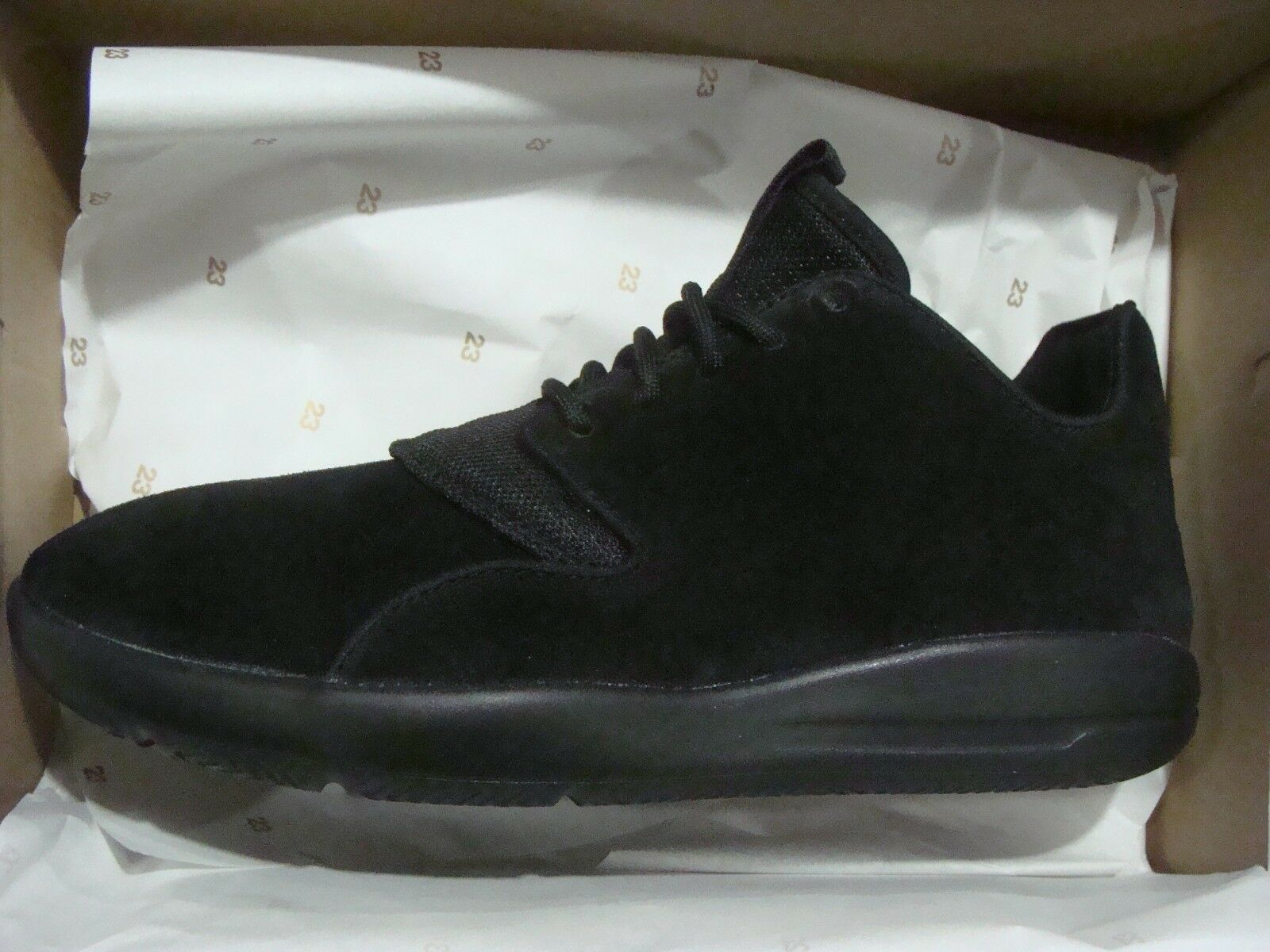 MEN'S NIKE JORDAN ECLIPSE LEA 724368 010 BLACK SIZE 8~13
