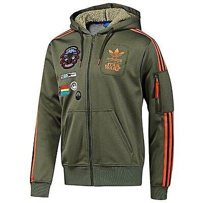 Adidas Originals Star wars x wing hoodie veste militaire homme Taille'S Medium M   eBay