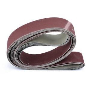 Abrasive Tools 6pcs 2 X 72 Fine Grit Sanding Belt Sandpaper Sander Abrasive Band 5x 182cm