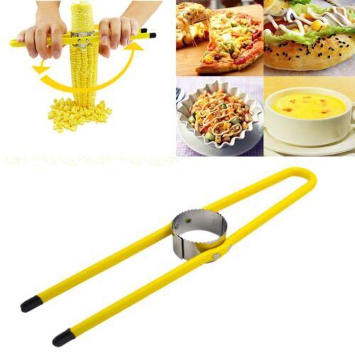 Household Stainless Steel Kitchen Cutter Remover Corn Peeler Stripper Thresher