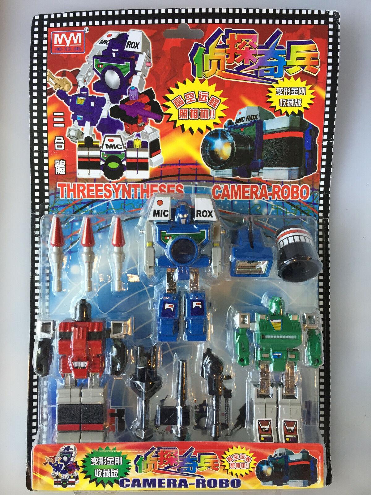 Transformers G1 REFLECTOR Camera-Robo KO Threesynthesis NEW MOSC unopened RARE