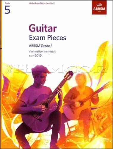 Guitar Exam Pieces ABRSM Grade 5 from 2019 Sheet Music Book Classical Giuliani