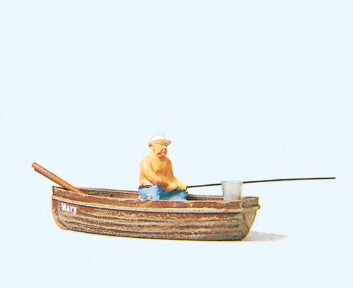 H0 Preiser 28052 Angler im Boot