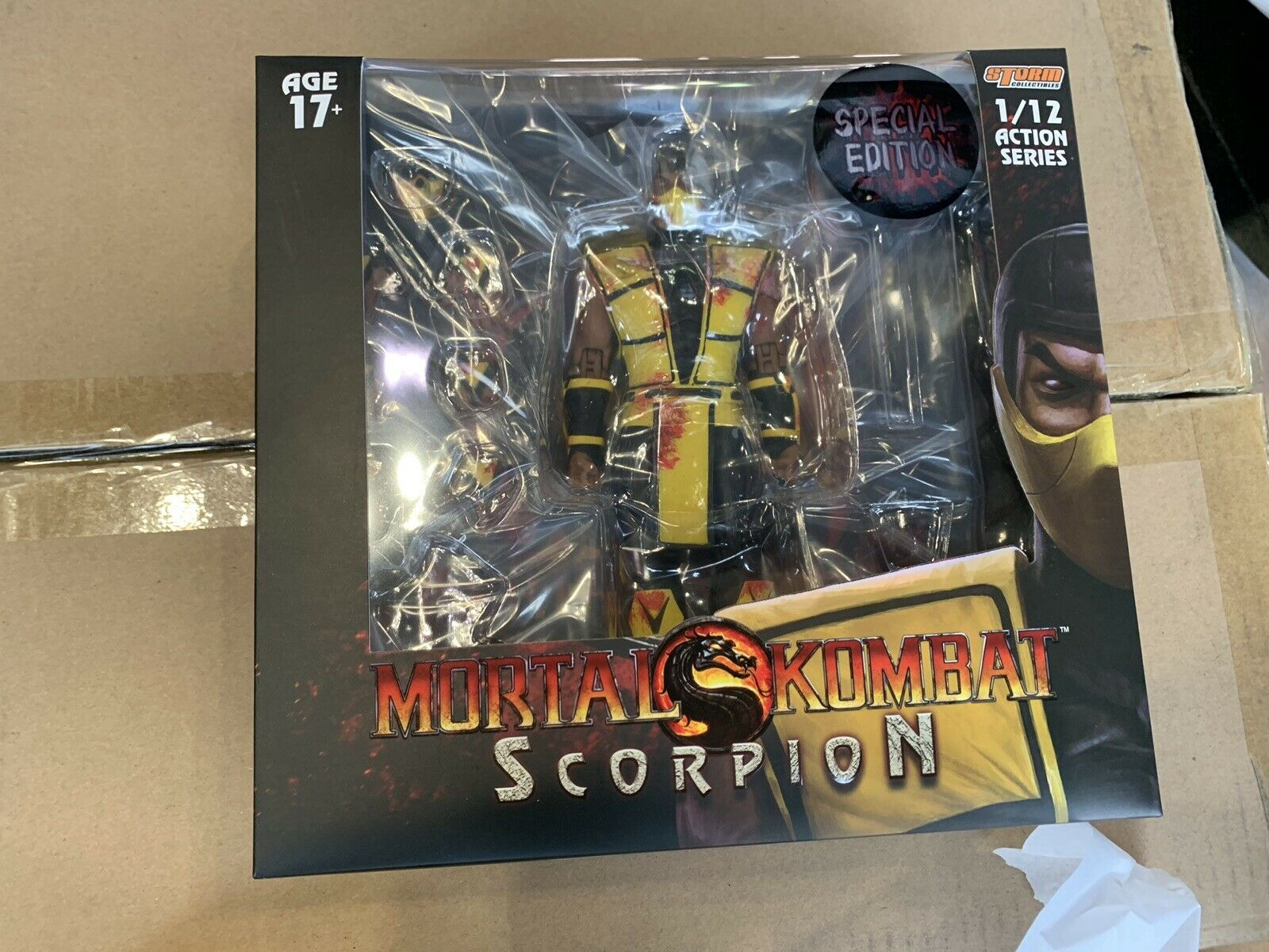 Bloody Scorpion Mortal Kombat Collectibles 2019 NYCC