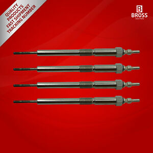 4-Piece-Heater-Glow-Plugs-GX4161-12291RBDE01-12291RL0G01-for-Honda-2-2-CDTI