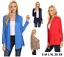 Womens-Open-Drape-Cardigan-Reg-and-Plus-Size-Cardigan-Sweater-Long-Sleeves-USA thumbnail 1