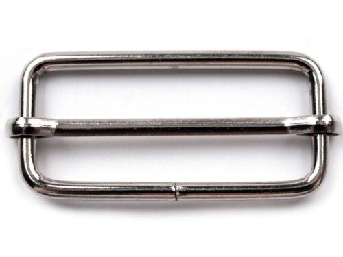 Staffelpreise Gurtschlaufe Versteller Durchzug Verschieber für Gurtband 40mm