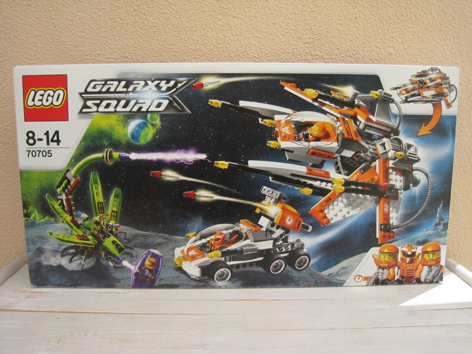 Lego Galaxy Squad - Le Vaisseau Insecticide - 70705 - Neuf et scellé