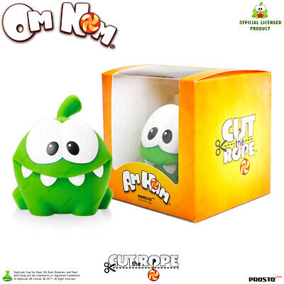 "Om Nom Collection Figurines Cartoon Character #1 PROSTO Toys /""Cut the Rope/"""