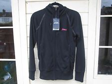 "Ladies Asics Sport Essentials Hoodie, Medium 40"" Chest, Black Jacket, BNWTs"