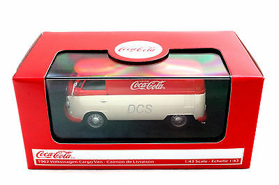 Motor City Classics Ford Transit Van Bus Coke Coca Cola Zero 1//43 Black 434735