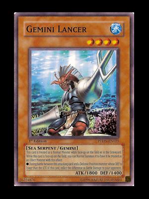 Lancer Lindwurm Near Mint Condition YUGIOH Card Mint