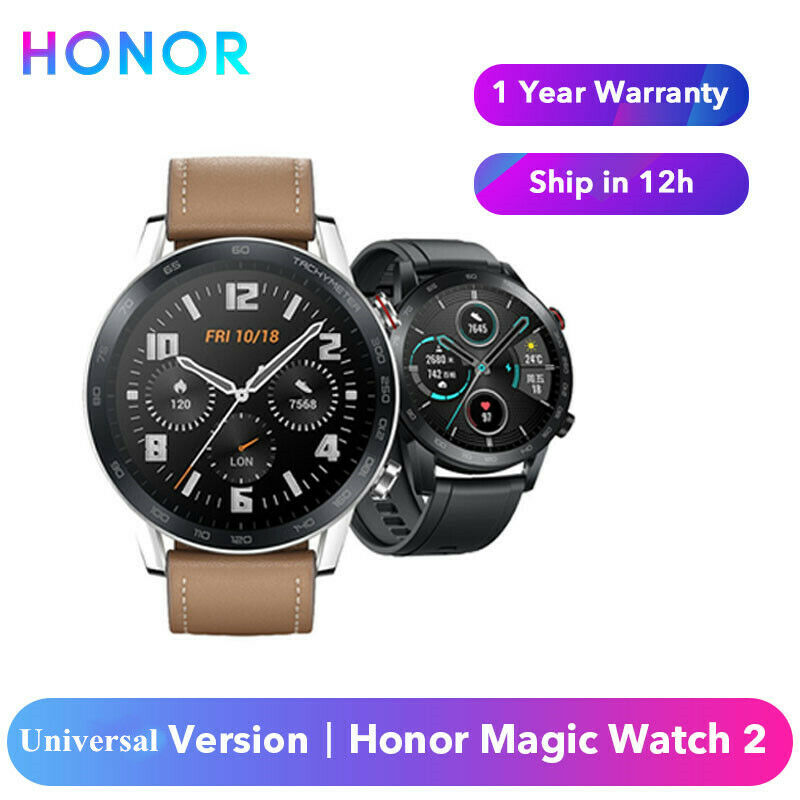 Original Huawei Honor Watch Magic 2 46mm Smart Fitness Tracker Heart Rate Watch