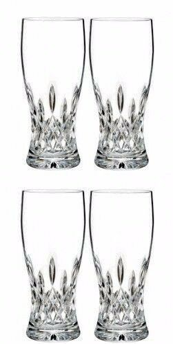 Waterford Lismore Pinte Verre Paire Deux Paires (4) verres  40018812 NEUF