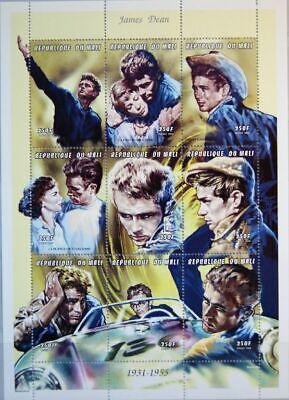 Angemessen Mali 1998 2093-01 978 James Dean Us Actor Schauspieler Filmstar Film Mnh