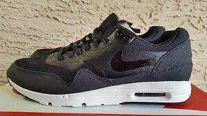 the best attitude aa34c c8fe5 Image is loading Nike-womens-Air-Max-1-Ultra-Essentials-Black-