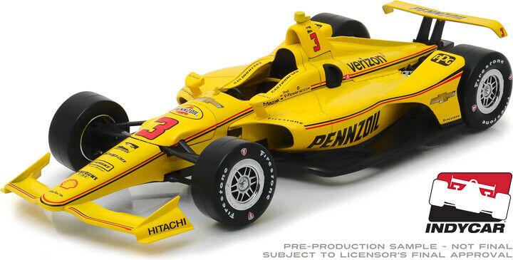 primera vez respuesta verdelight 1 18 IndyCoche Chevrolet Chevrolet Chevrolet Team Penske Pennzoil  3 Helio Castroneves 2019  tienda en linea