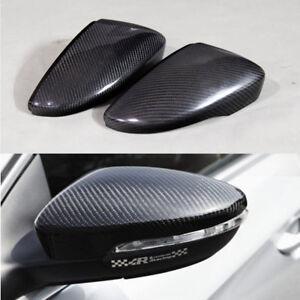 Carbon-Fiber-Replacment-Side-Rearview-Mirror-Cover-Caps-for-VW-Passat-CC-2010-16