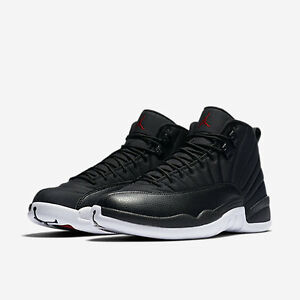 separation shoes b65ec f24e8 Image is loading 2016-Nike-Air-Jordan-12-XII-Retro-Black-