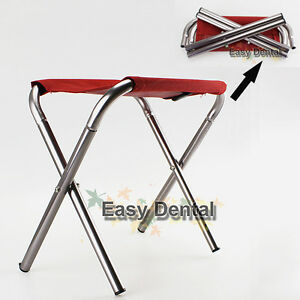 Image Is Loading NEW Portable Aluminum Folding  Stool Outdoor Camping Fishing