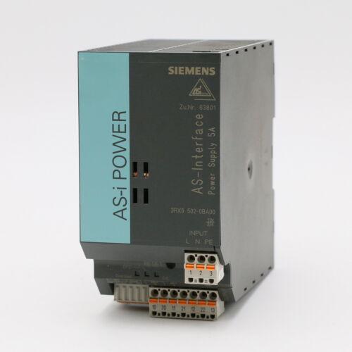Siemens 3rx9 502-0ba00 as-I Power