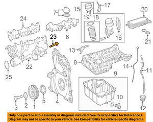 mercedes oem 14 17 sprinter 3500 3 0l v6 engine intake manifold bolt Honda Engine Diagram details about mercedes oem 14 17 sprinter 3500 3 0l v6 engine intake manifold bolt 0029900122