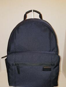 db8c3d628e70 MICHAEL KORS TRAVIS NAVY BLUE NS BACKPACK TRAVEL BAG LAPTOP NWT ...