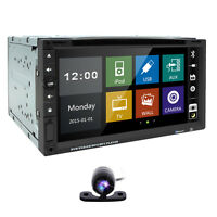 Radio Usb/sd Camera 2din Automotive Indash 7 Touch Screen Car Stereo Dvd Player