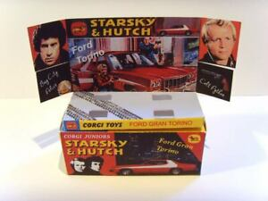 CORGI-JUNIORS-Starsky-amp-Hutch-superbo-display-box-e-vassoio-solo-assemblato