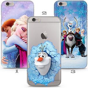 Frozen Elsa Anna Kid Disney Cartoon Phone Case Cover Iphone 5 6 7 8