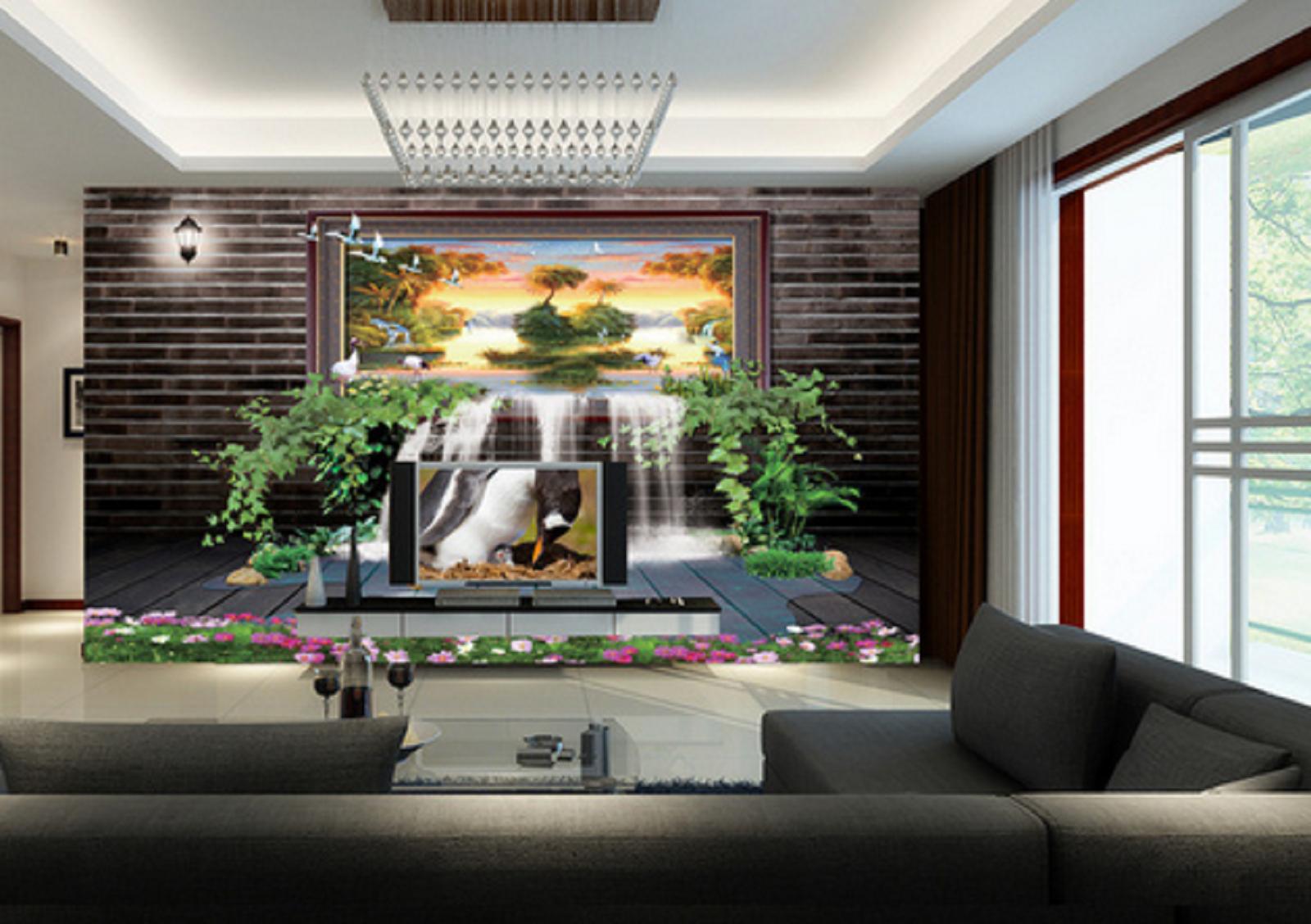 3D Natur Landschaft Kreativität 56 Tapete Tapeten Mauer Foto Familie Wandgemälde