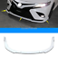 3pcs White ABS Front Bumper Lip Cover Trim For 2018 2019 Toyota Camry SE//XSE