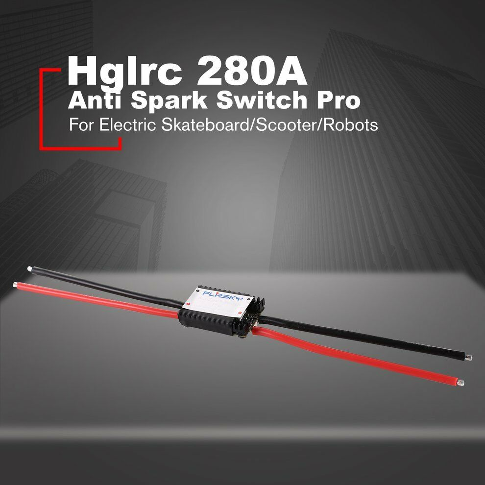 Hglrc Anti Spark Switch Pro 280A for Electric Skateboard Scooter Robots yc  | Flagship-Store