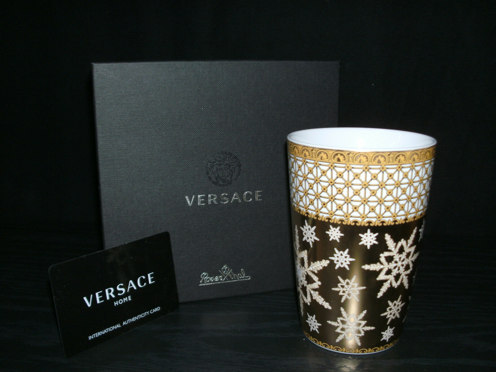 Rosenthal versace Christmas in your heart 2010 gobelet NOUVEAU & OVP 1. choix