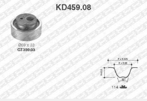 X2 1.8 i 90 CH Kit Distribution SNR CITROËN XANTIA