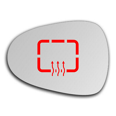 Left side for Seat Ibiza 2008-2015 heated wing door mirror glass