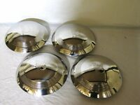 1940 Ford Standard Car 1940 1941 Pickup Truck V8 Stainless Hubcaps Set Of 4
