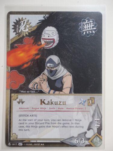Naruto Karte KAKUZU Stich arts 1617 RARE