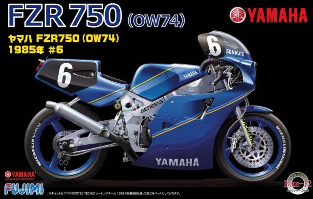 Fujimi 1:12 Scale Yamaha FZR750 Motorbike Model Kit #924