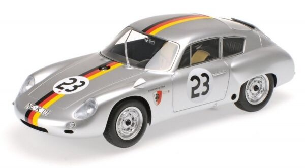Porsche 358 B 1600 GS Carrera GTL Abarth No.23 2nd Grand Prix Solitude 1962 (Ger  | Üppiges Design